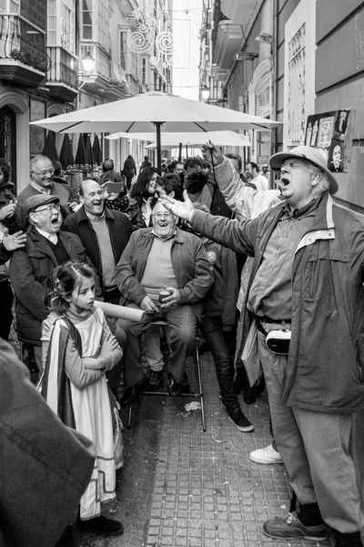 Conflicto generacional. Carnaval de Cádiz