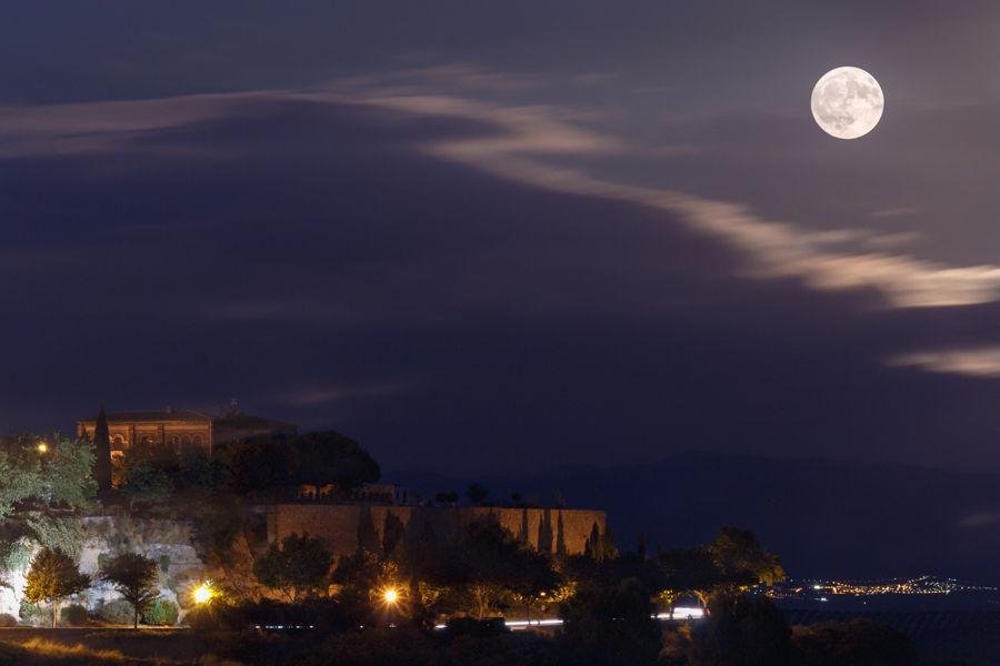 La luna como testigo