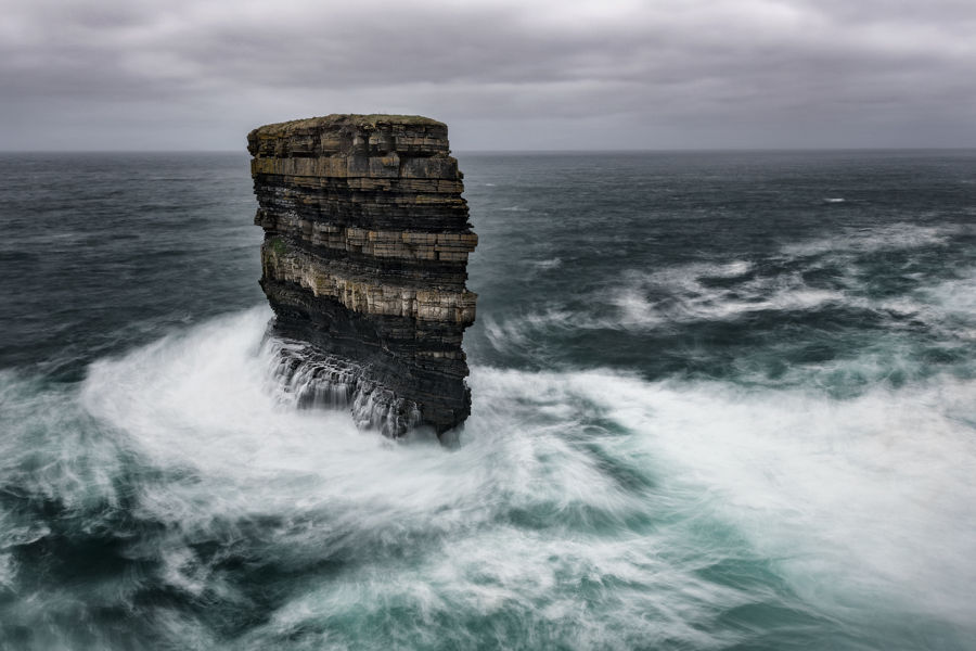 Los halos de Downpatrick Head