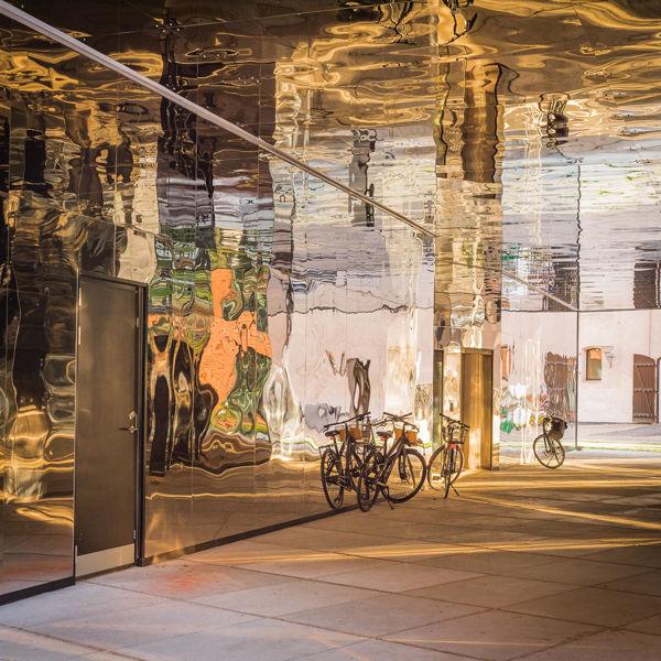 Refleciones doradas en Copenhague