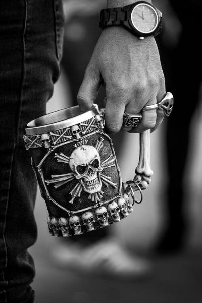 Una birra con la muerte