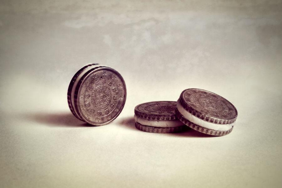Galletas Oreo - (Monedas) - Serie Comidas Imposibles.