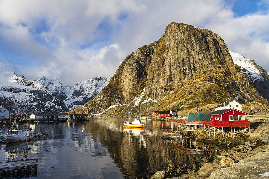 Hamnoya - Noruega