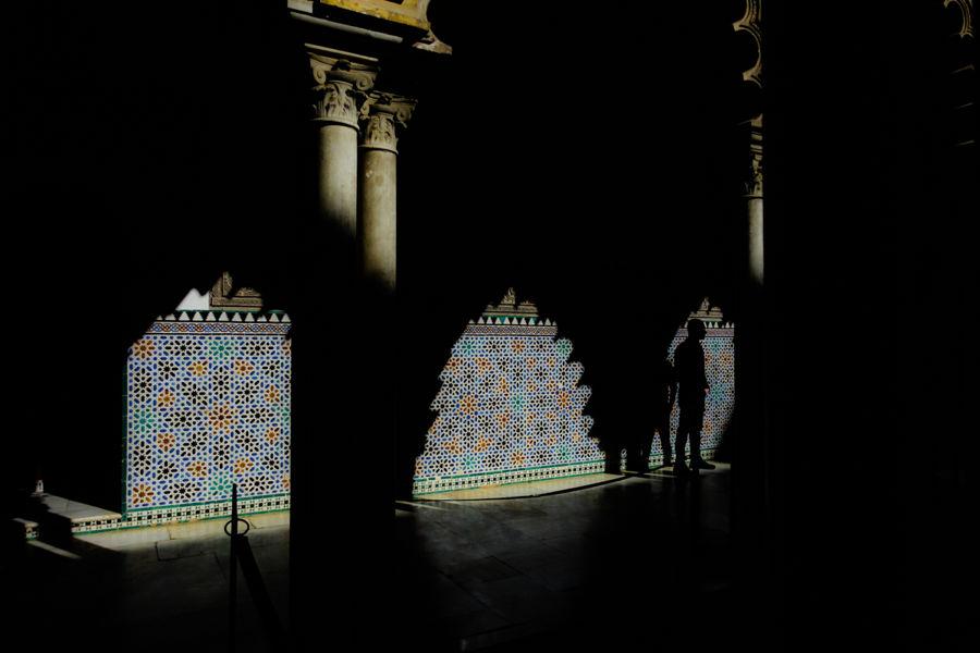 Azulejos en el Alcázar