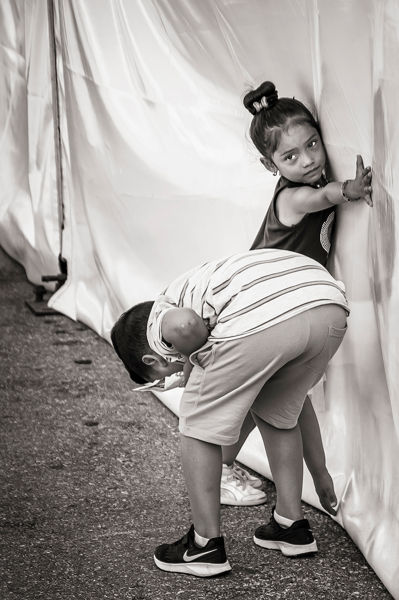 Curiosidad infantil