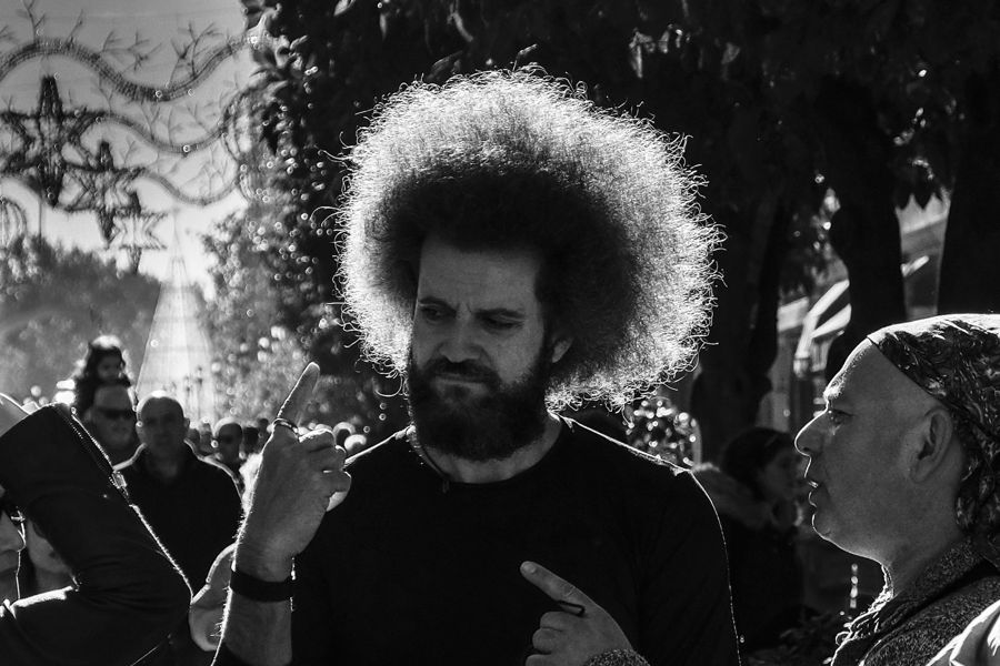 Peinado Afro.