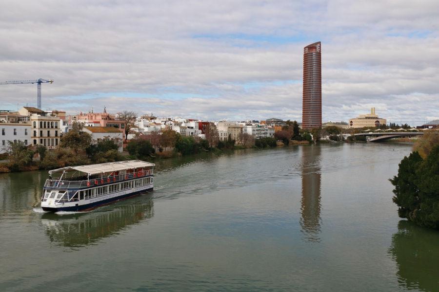 Paseo por el Guadalquivir.