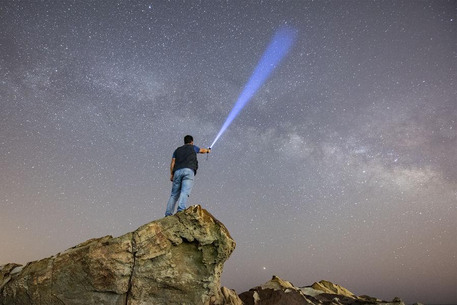 Iluminando la Vía Láctea