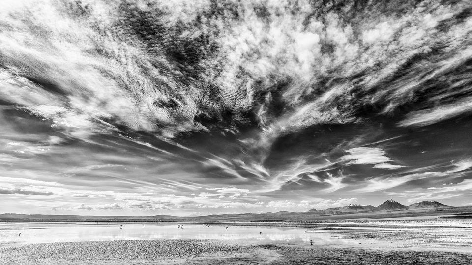 Laguna en el Altiplano