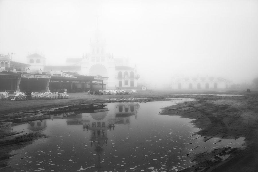 Entre la niebla y su reflejo