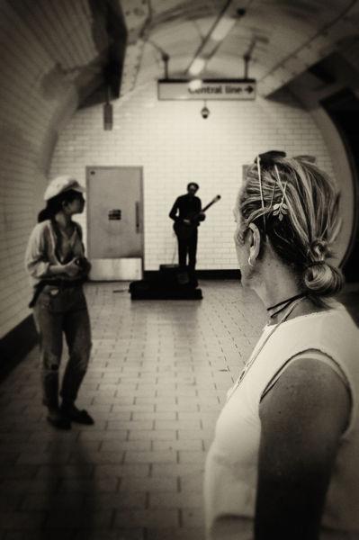 Musica en el metro