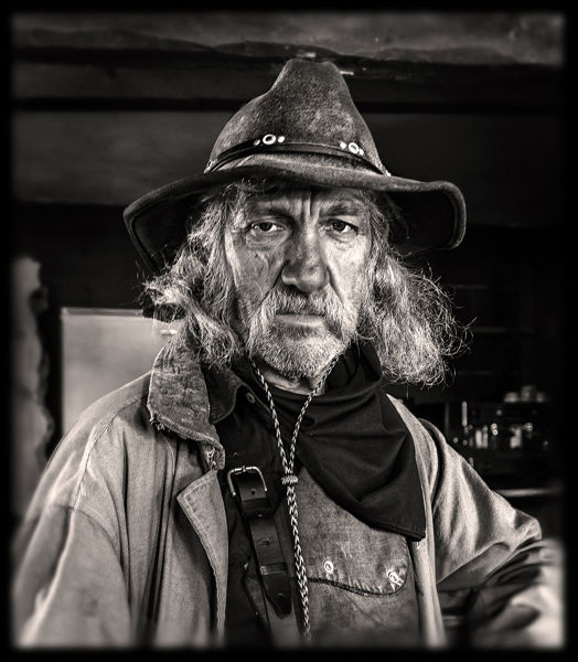Old Cowboy. Tabernas, Almería