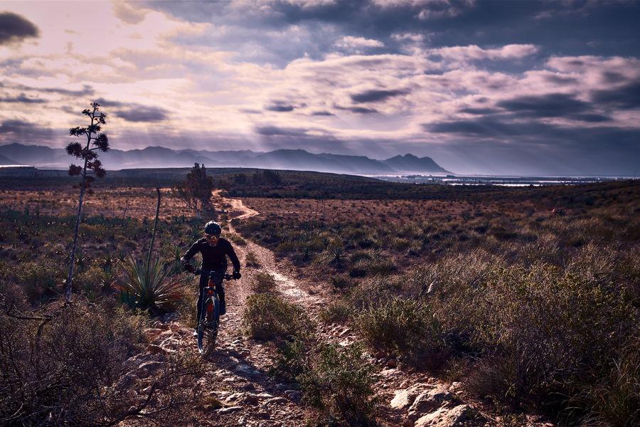 Pedaleando en El Cabo