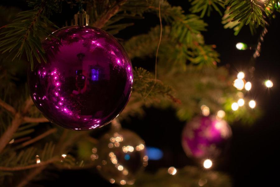 Reflejo en Navidad