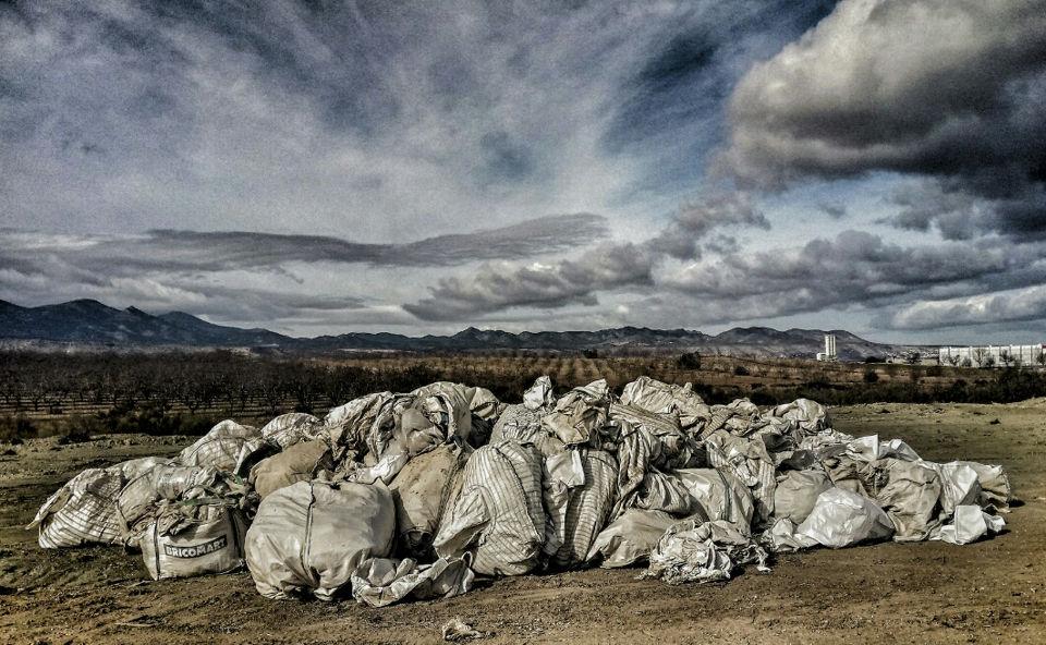 Montañas de residuos