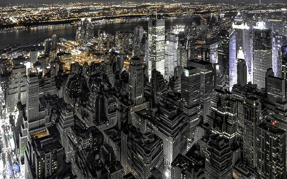 Panorámica desde el Empire State