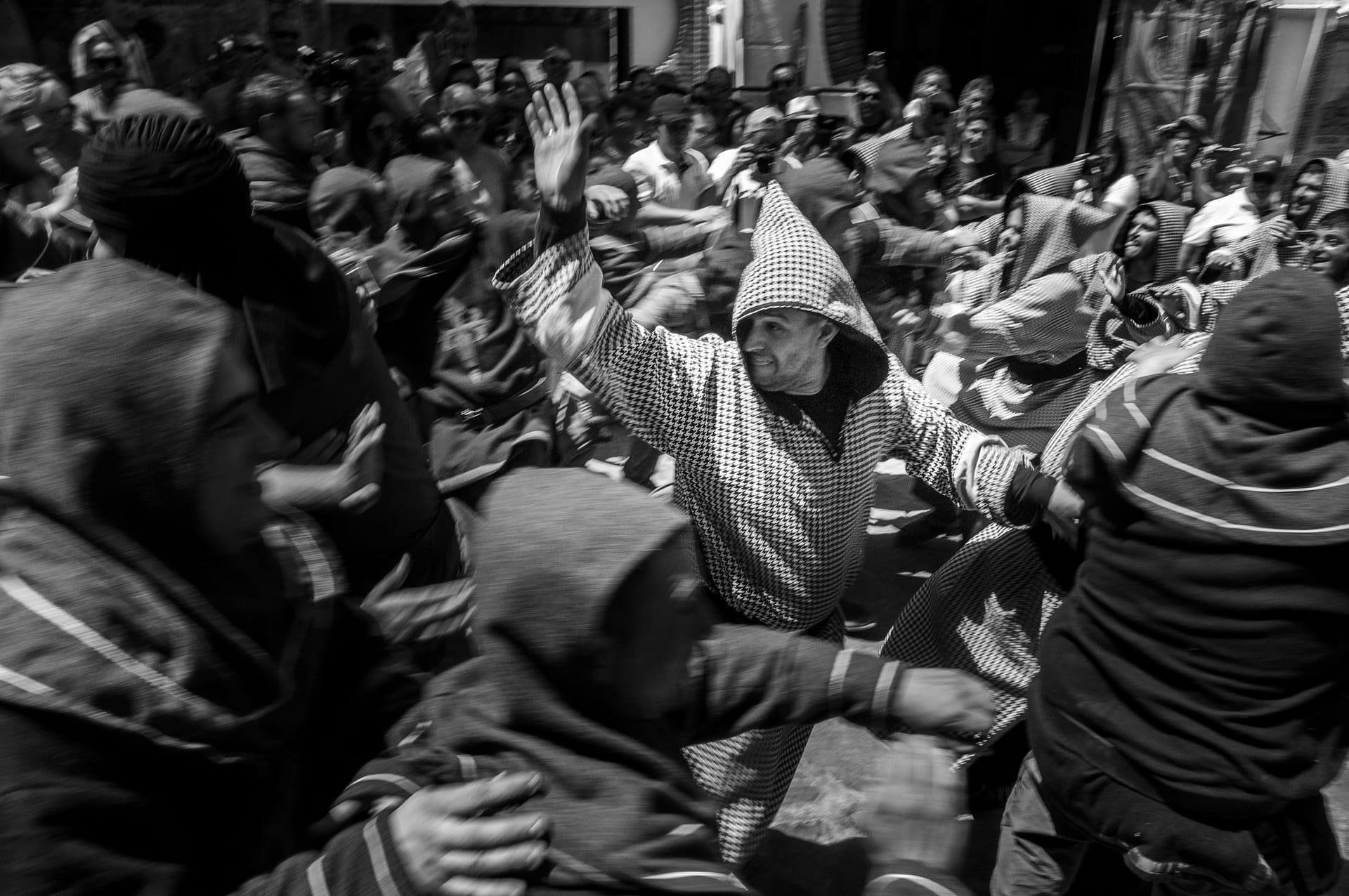 Moros y Cristianos de Benamahoma: La lucha