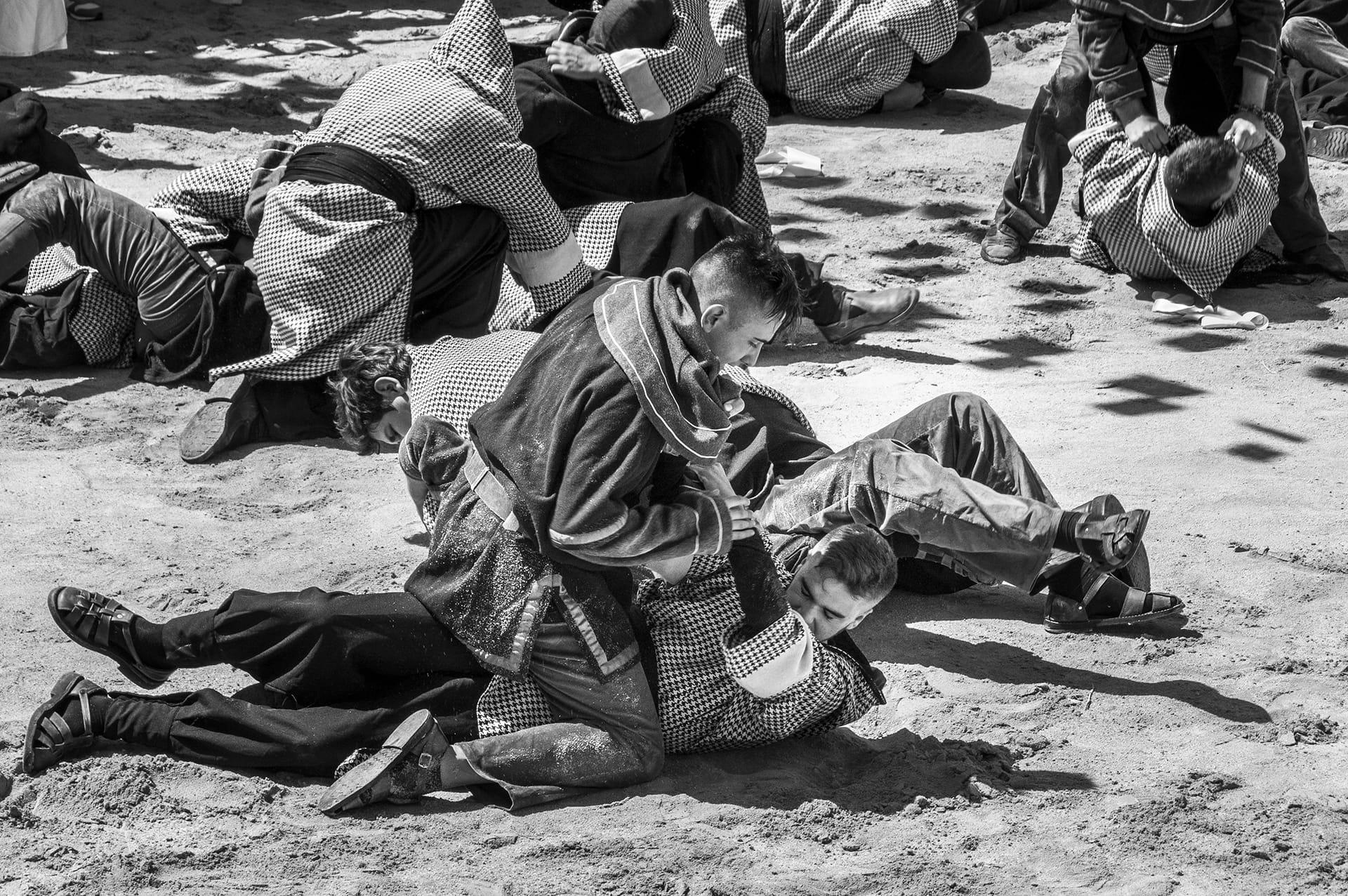Moros y Cristianos de Benamahoma (4): La lucha