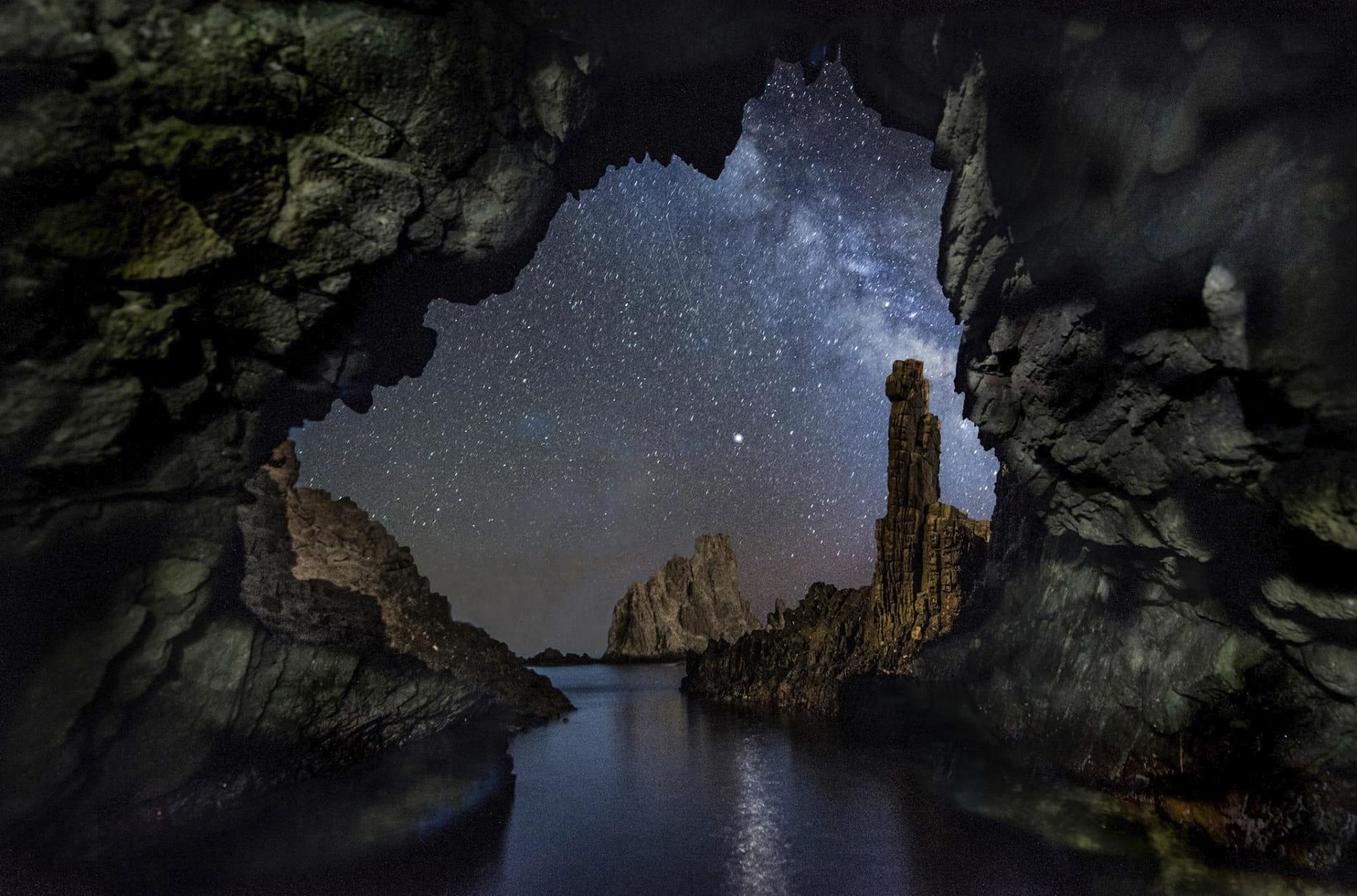 Estrellas en el arrecife