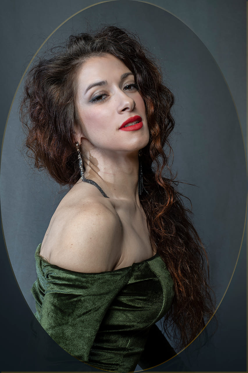 La soprano Angeles Nuñez