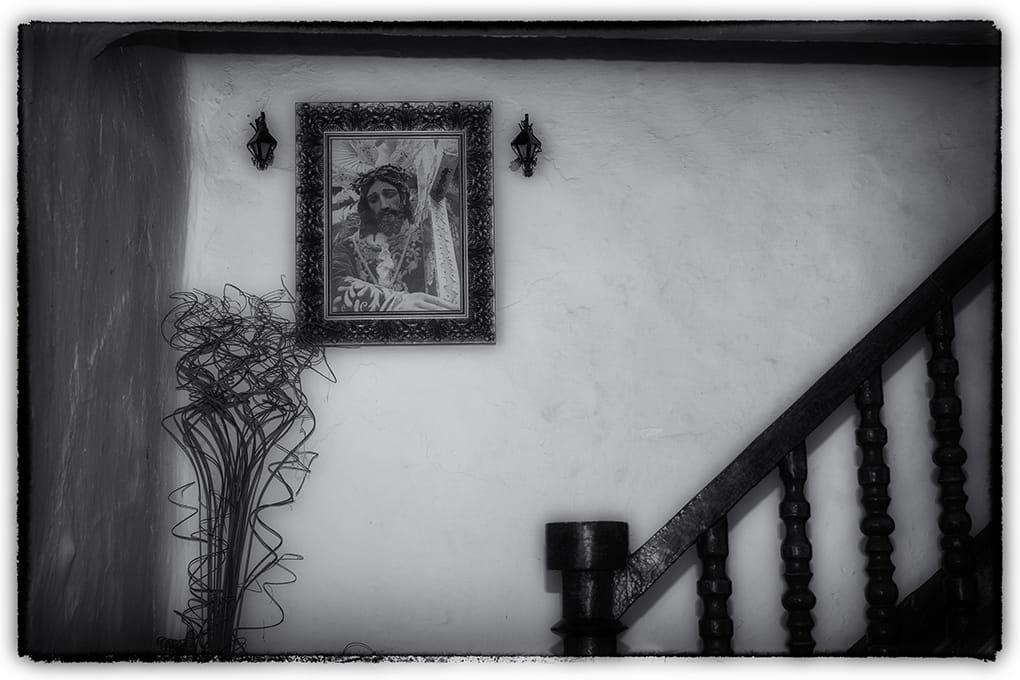 A la subida de la escalera....