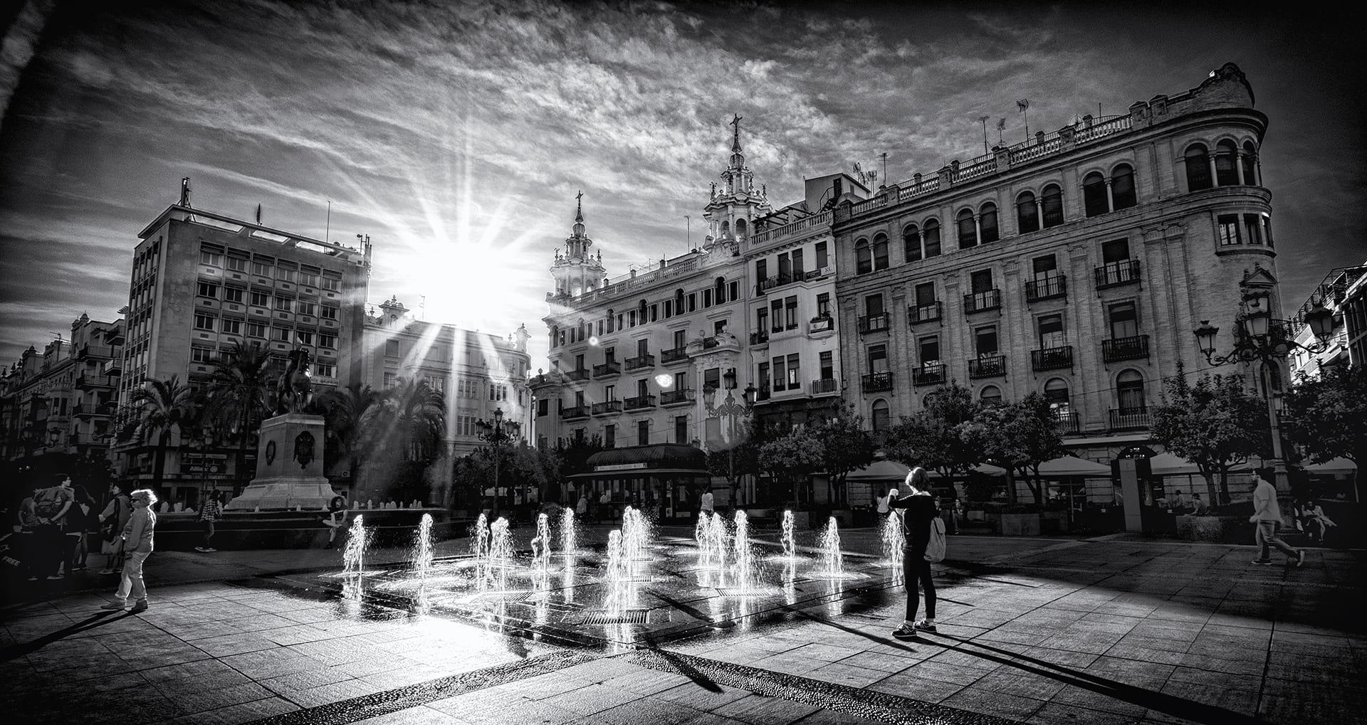 Despuntando el sol