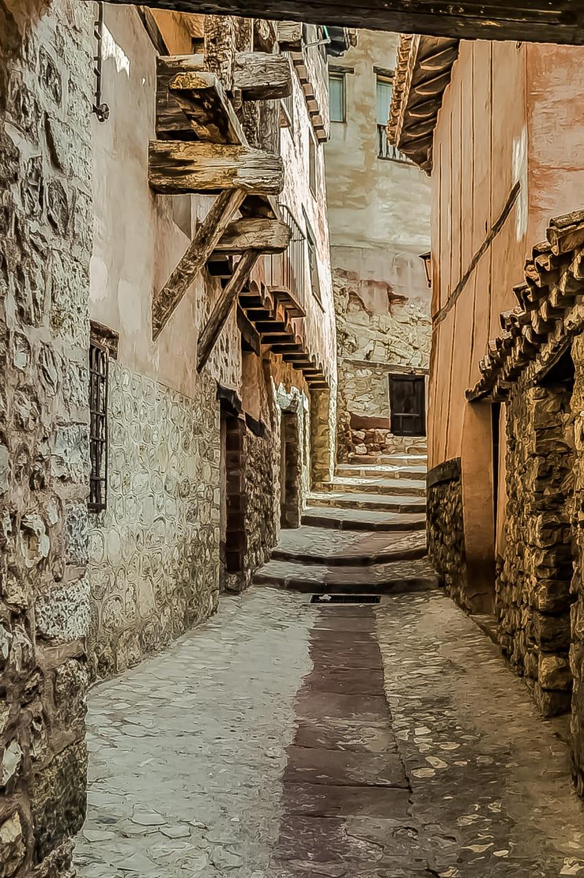 Albarracín, sus calles.
