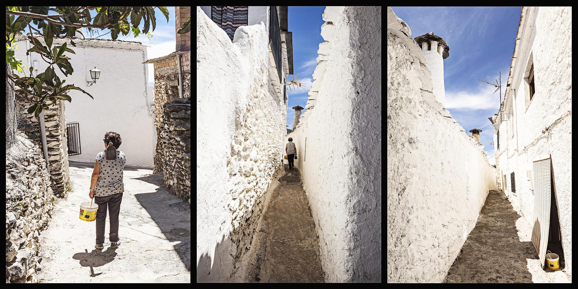 """""""Gran Vía"""" de Capilerilla. Alpujarras."""