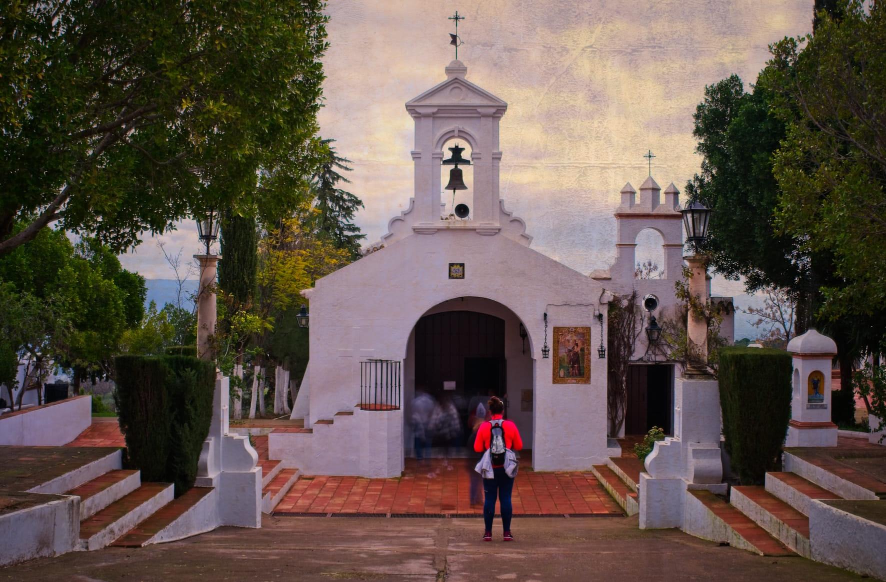 Devotos en San Benito 5