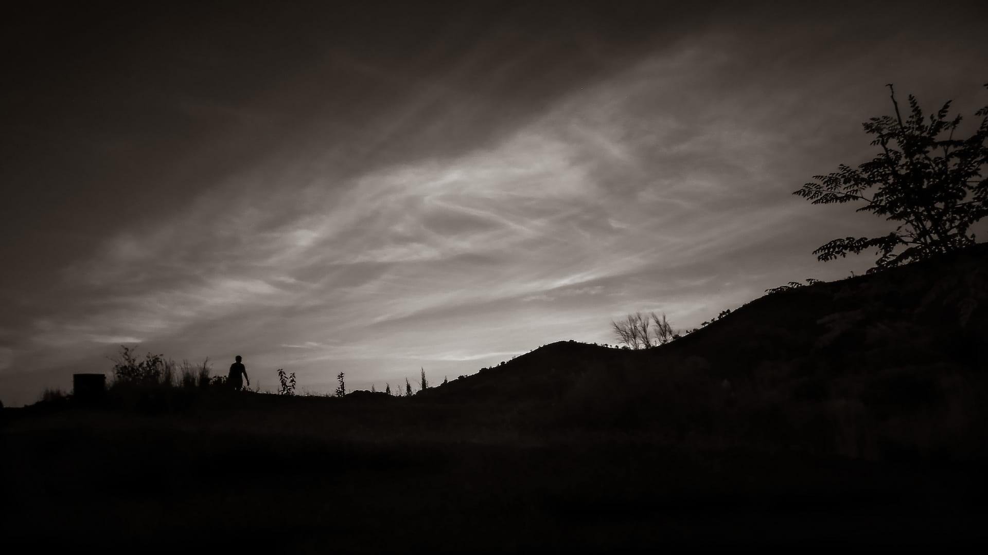Dunkelheit kommt