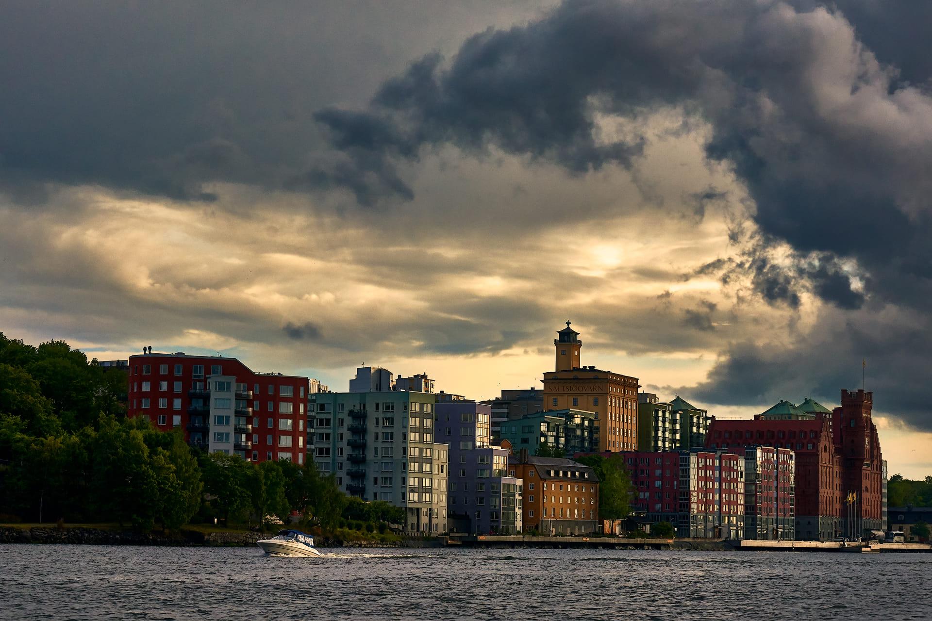 Estocolmo (atardecer)