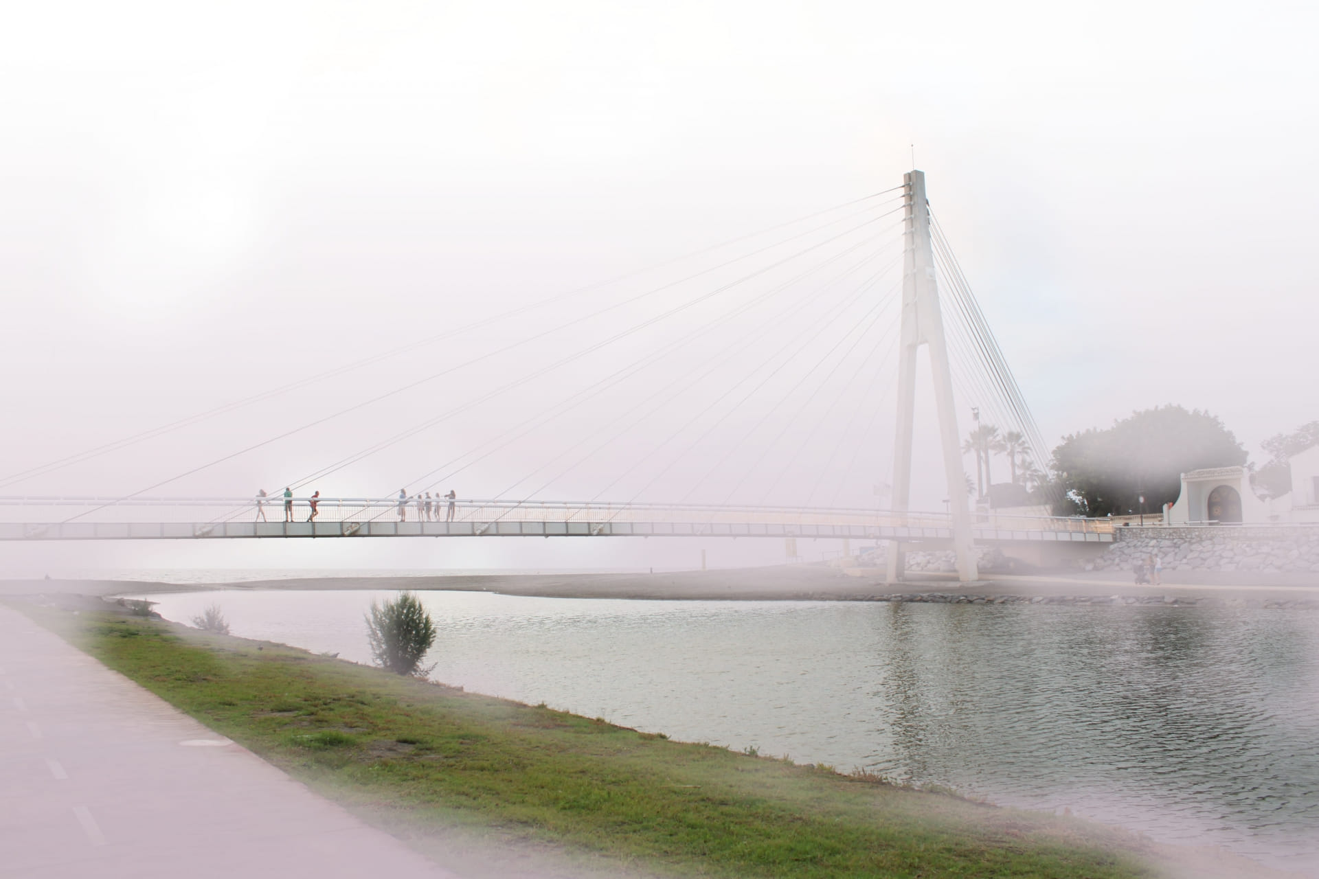un epacio con mas claridad en un mundo de niebla