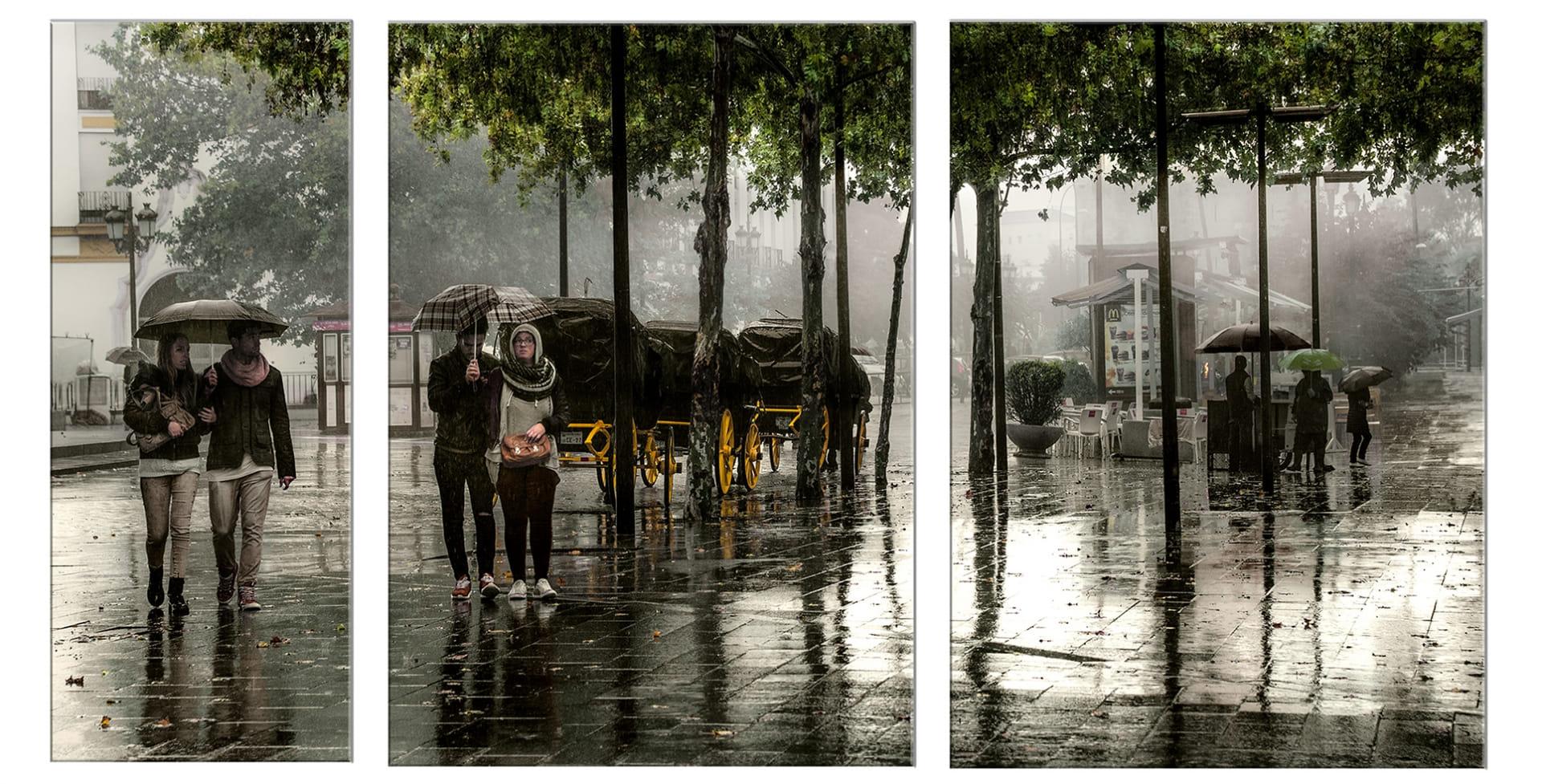 La lluvia en Sevilla es una maravilla