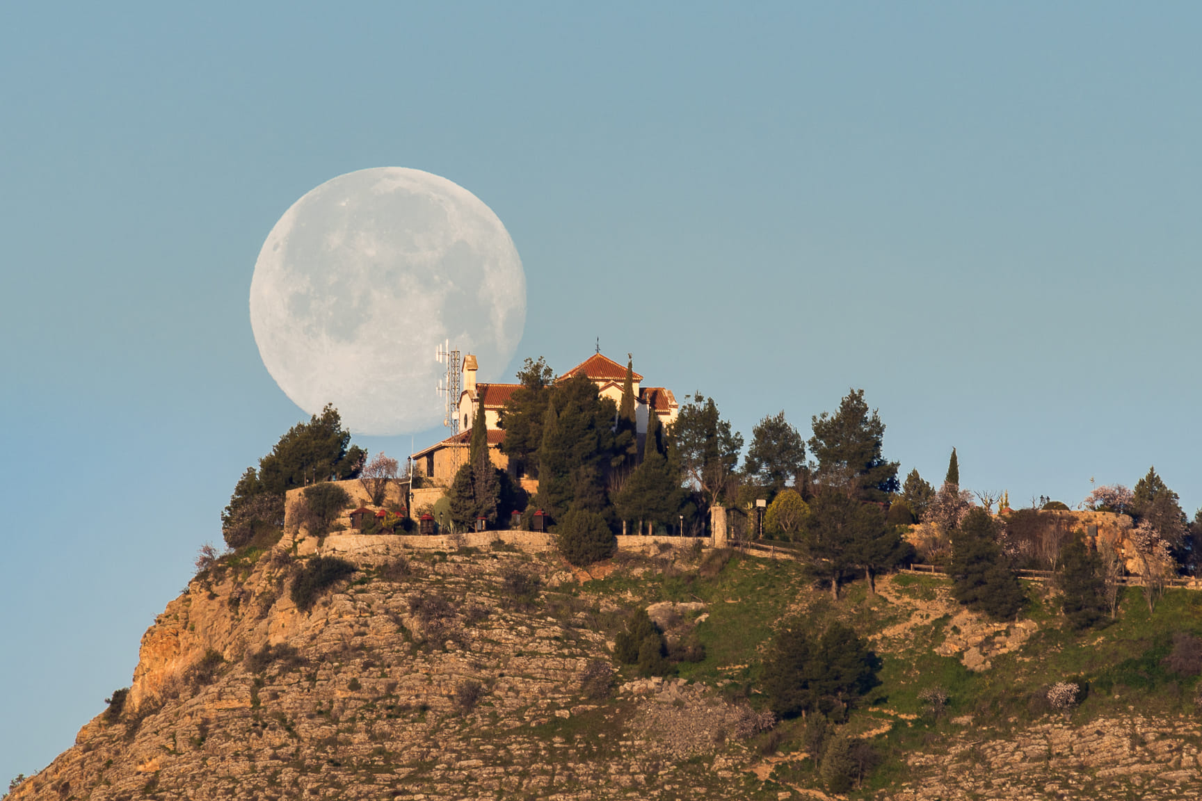 Luna lunera.