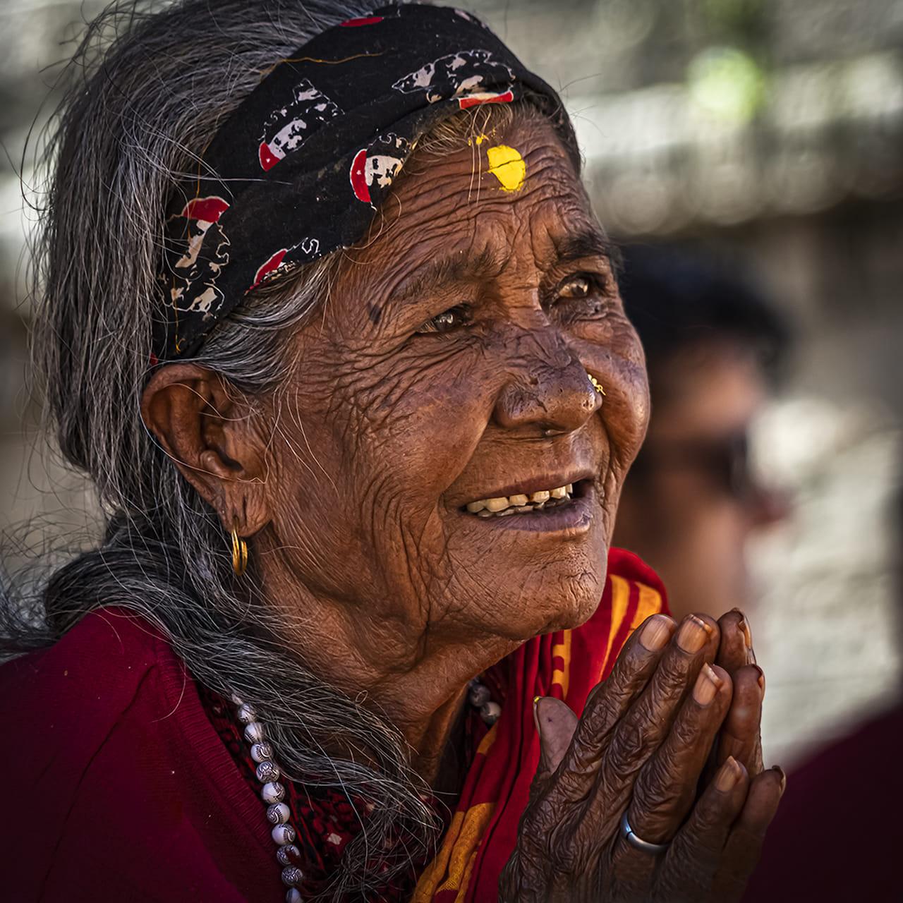 Mujer en el Templo
