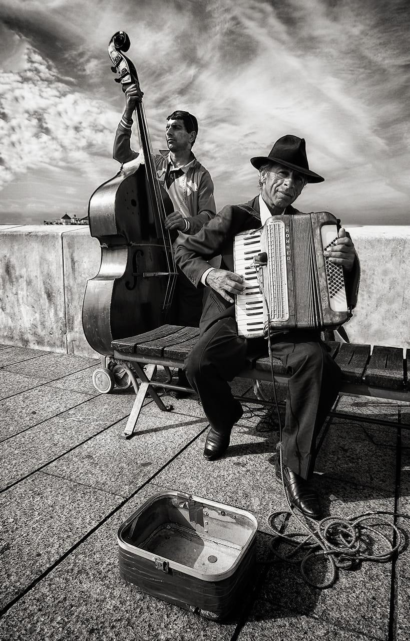 Músicos callejeros I