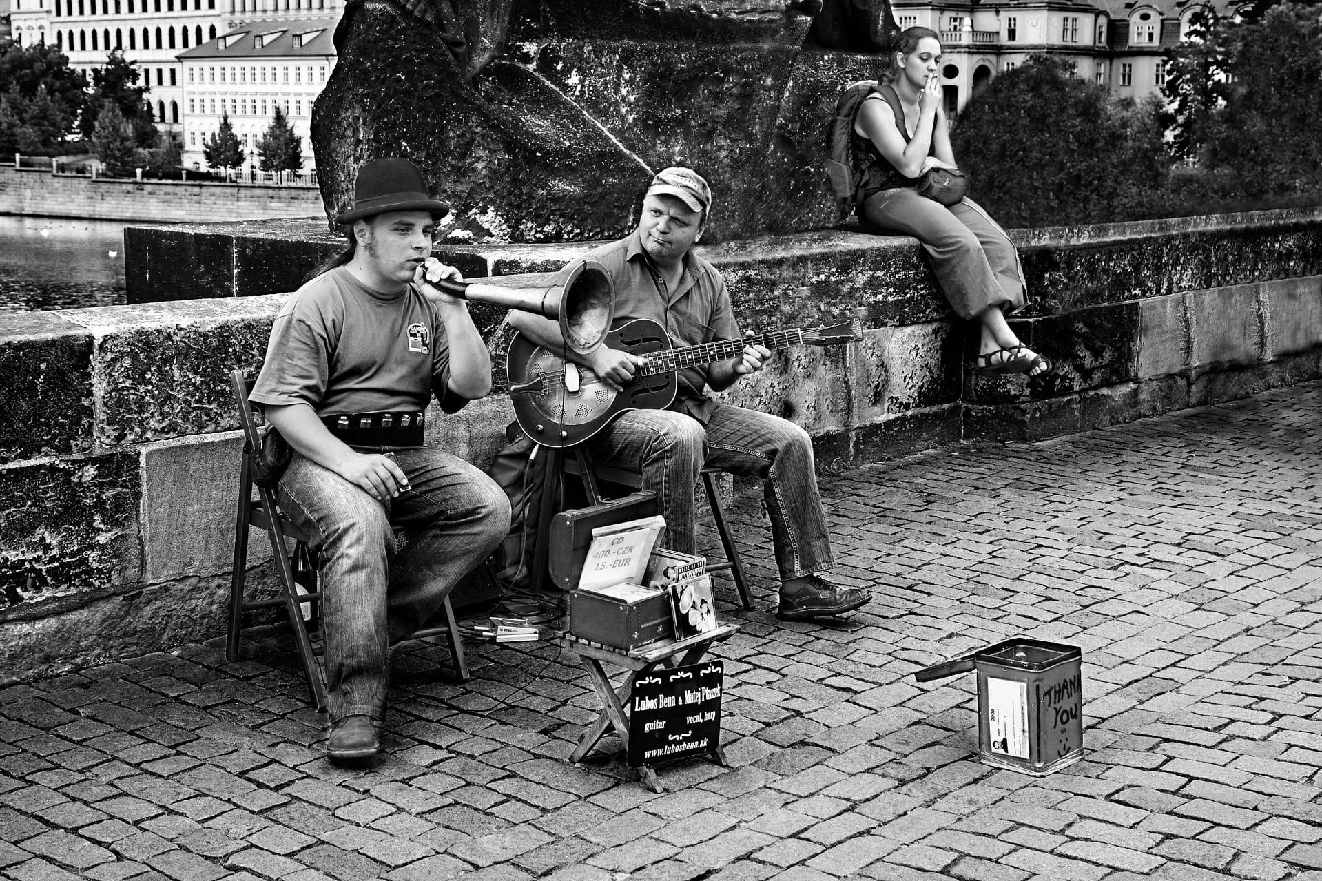 Músicos callejeros II