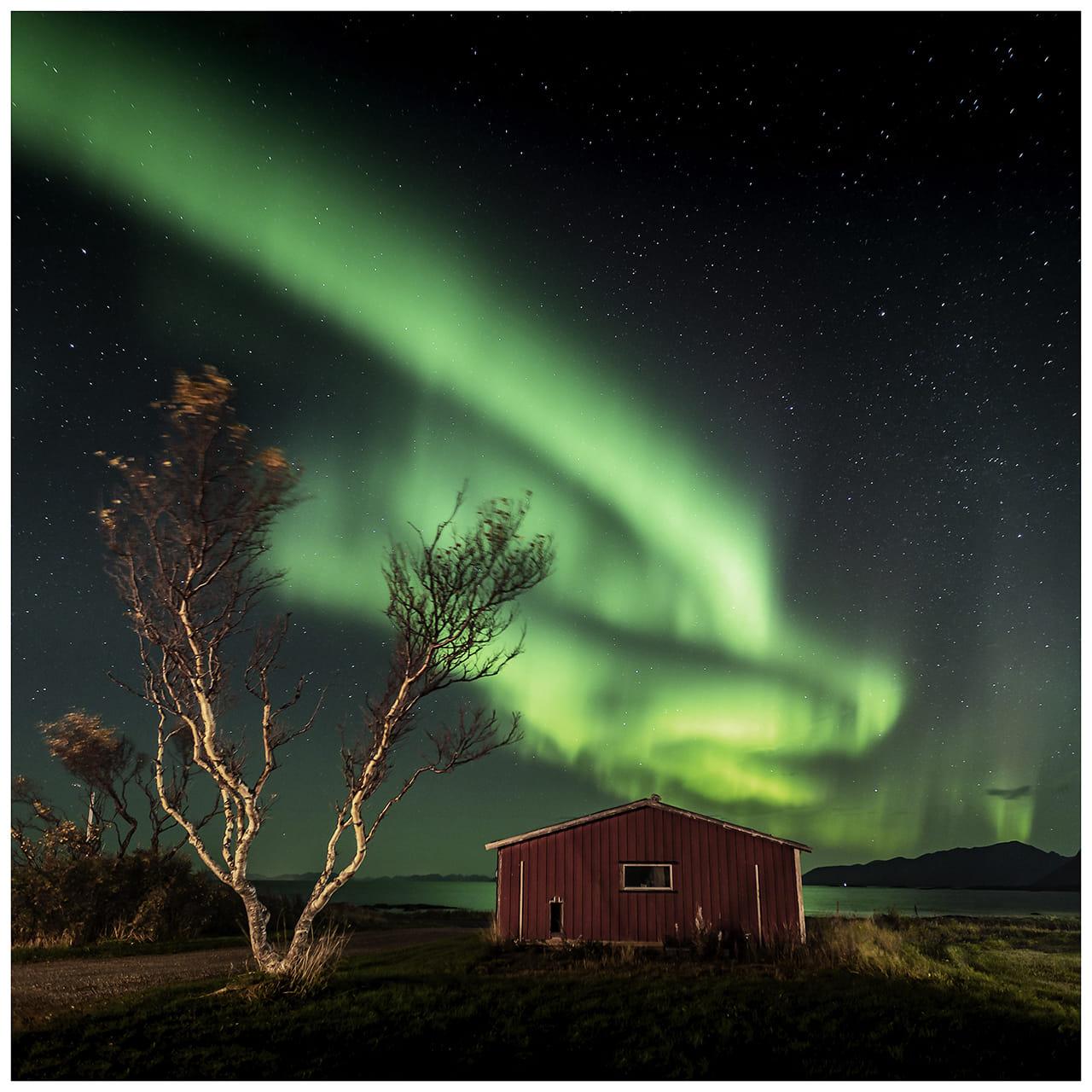 """Noruega """"aurora boreal"""""""
