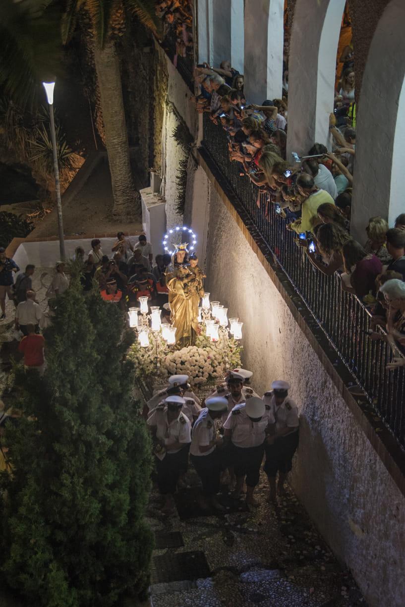 Procesión Virgen del Carmen, Nerja 2019
