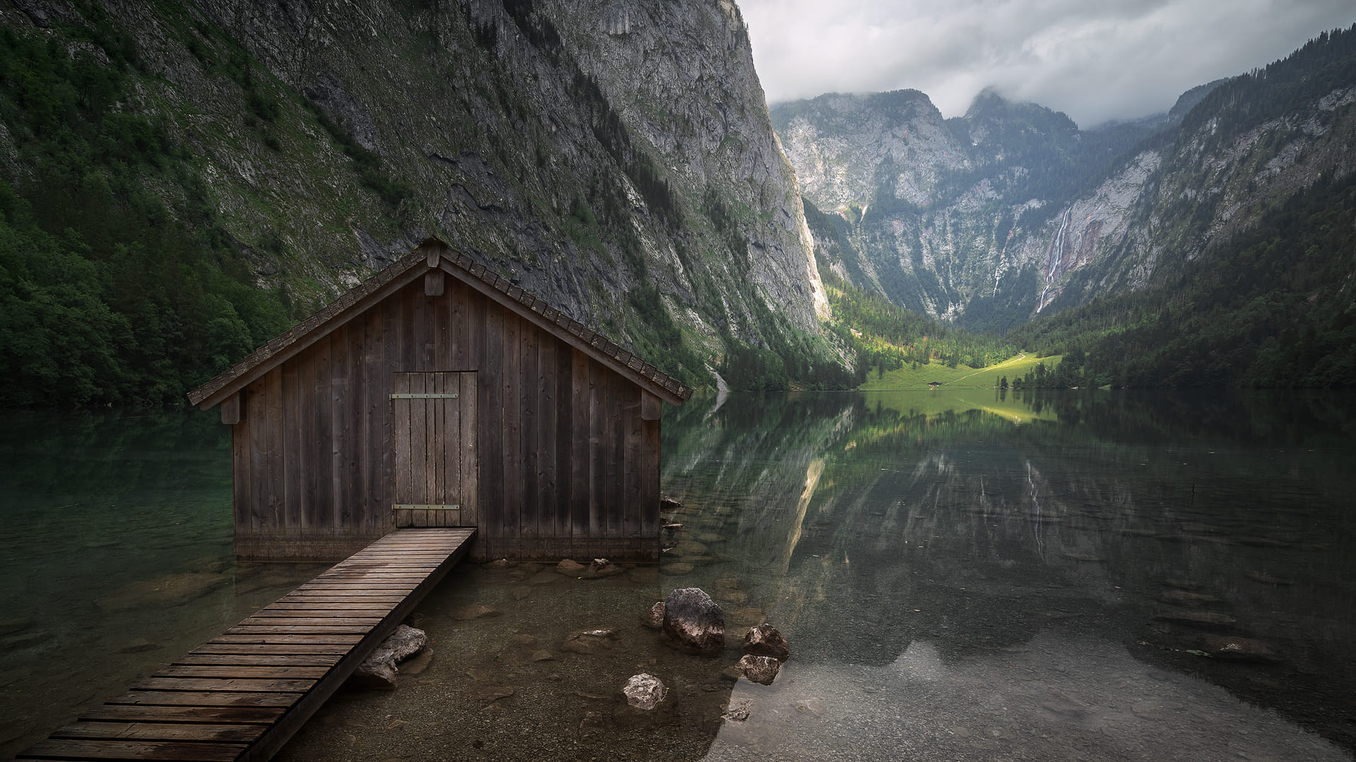 The littel boat-house