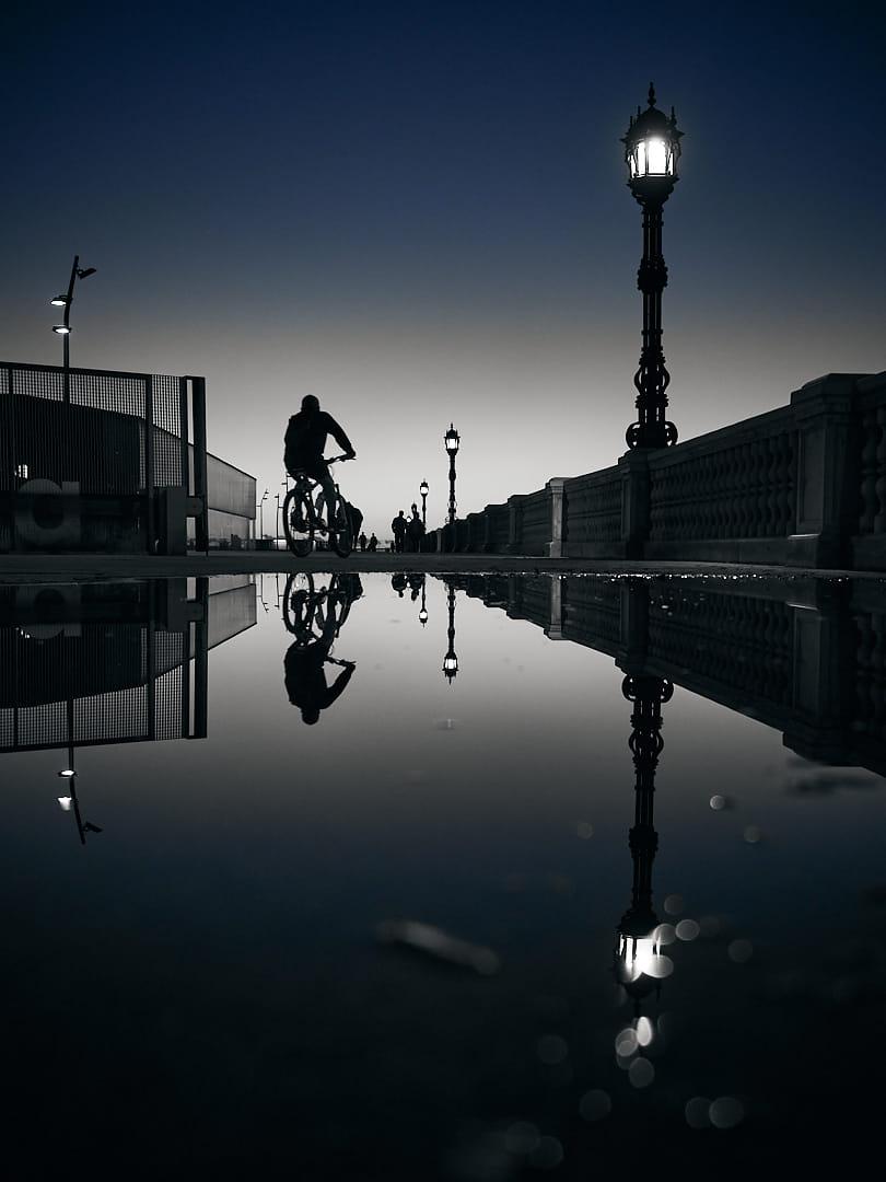 calma después de la lluvia