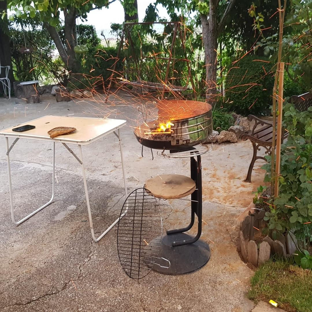Barbacoa con soplillo