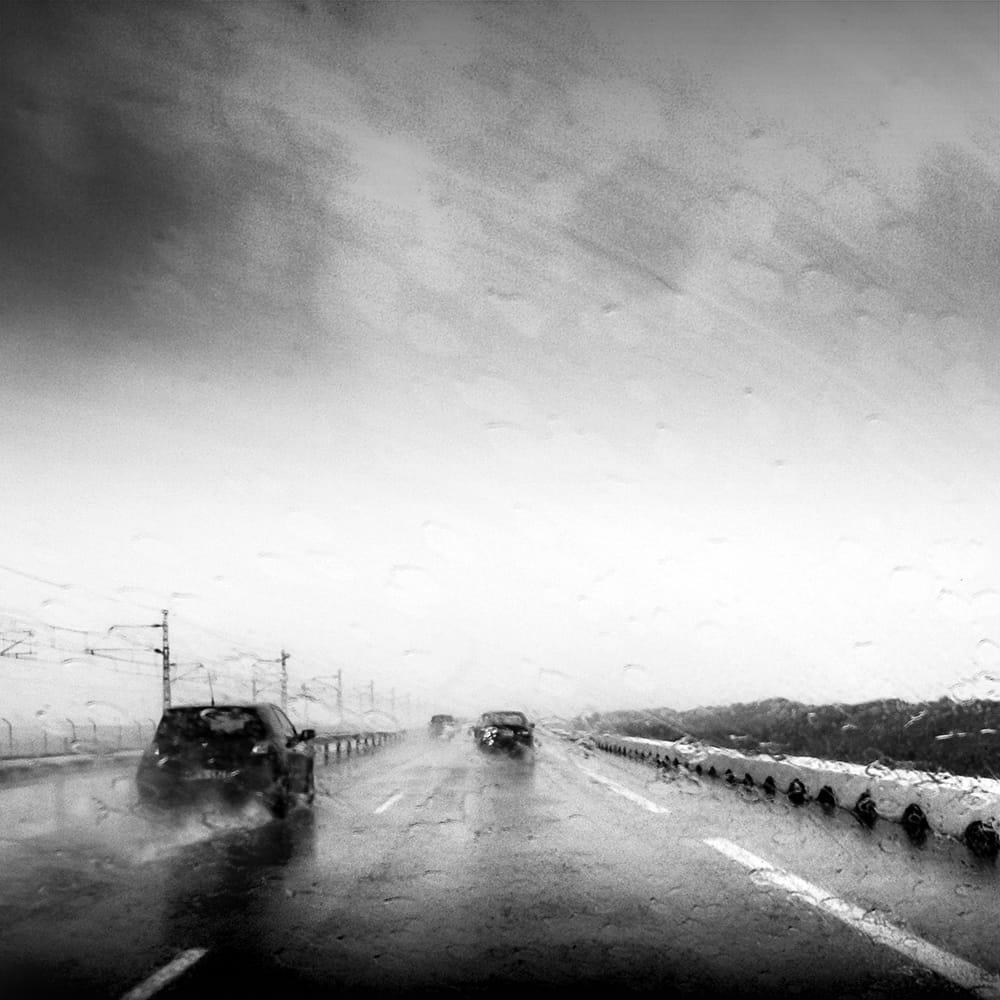 Carretera mojada