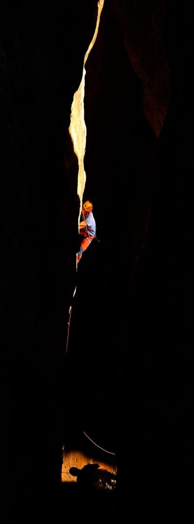 El escalador.