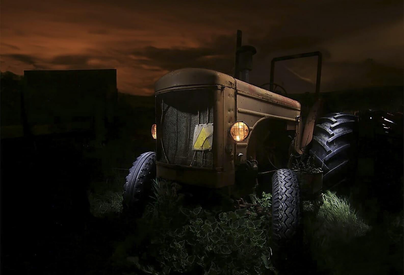 El tractor