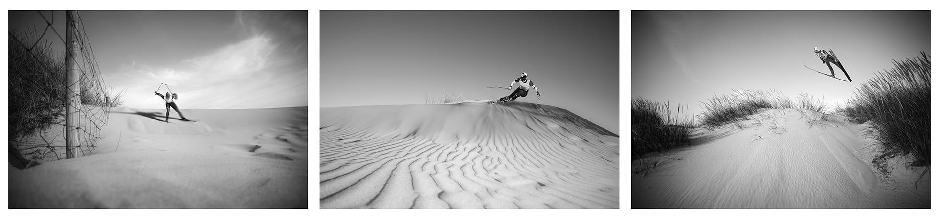 Esquiando en el Paraíso