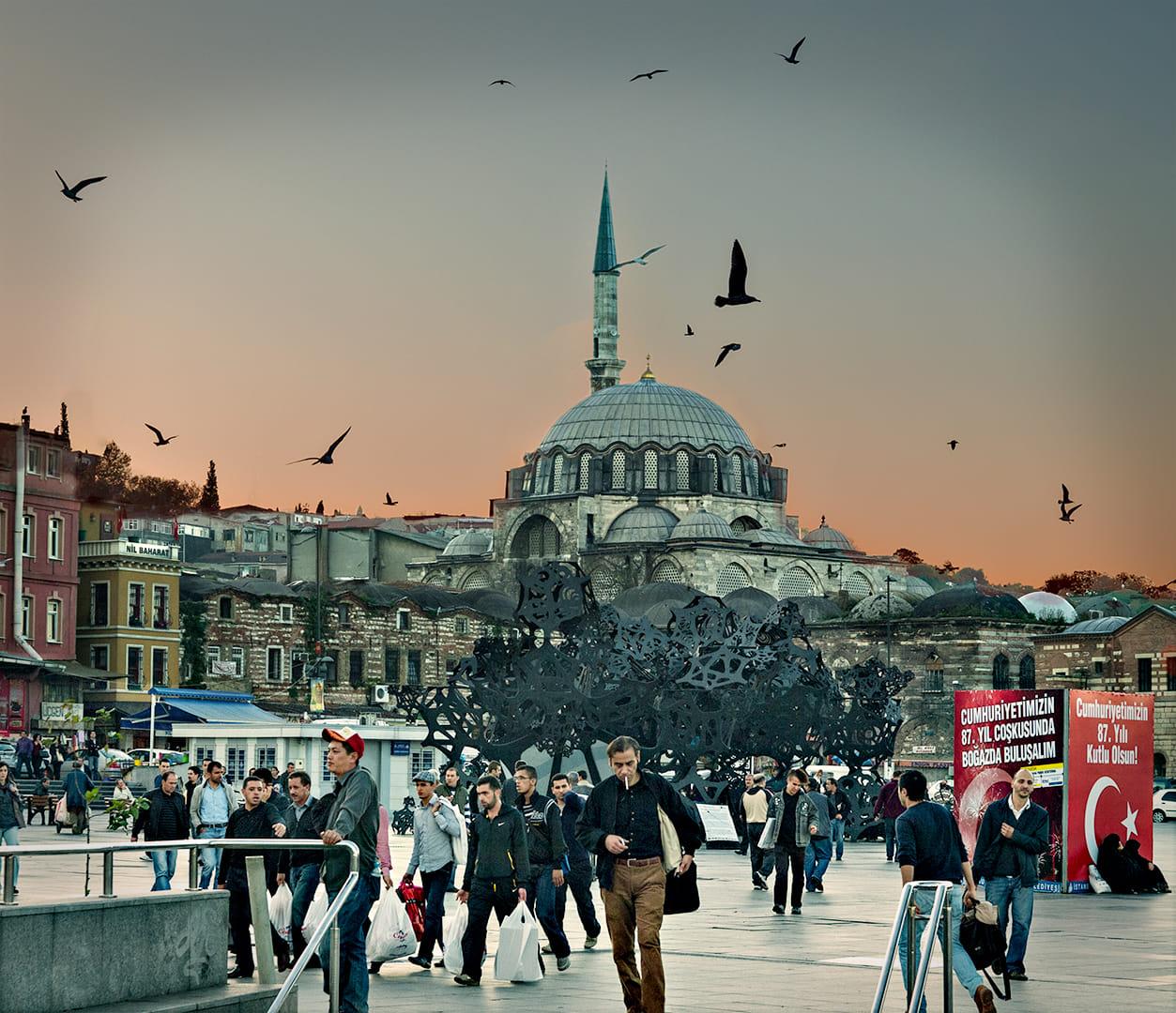 Atardecer en Istanbul