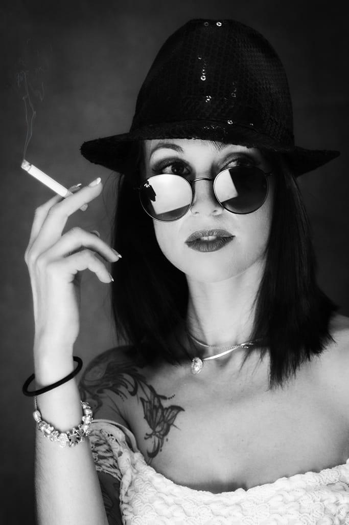 Fumando espero.