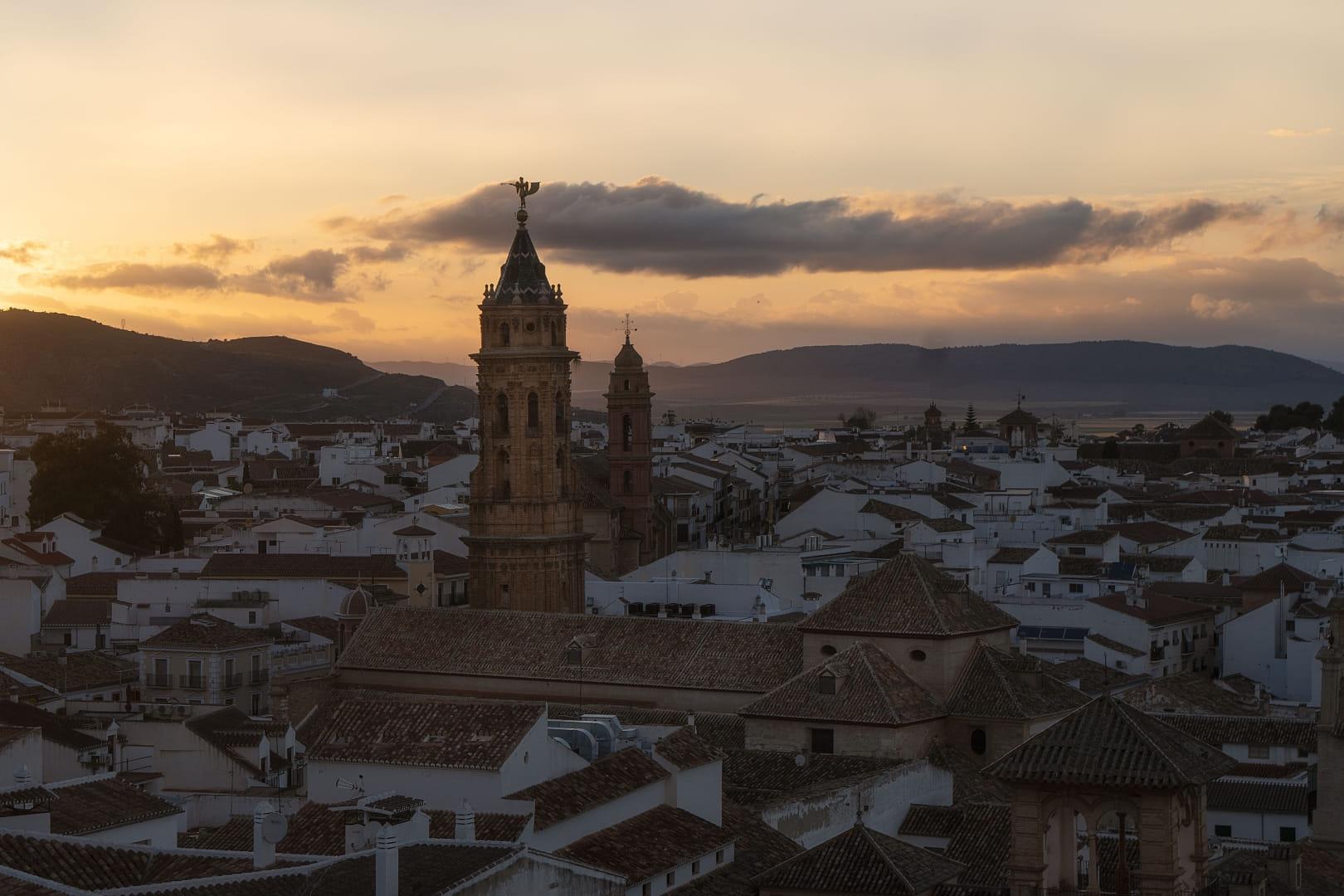 Atardecer en Antequera