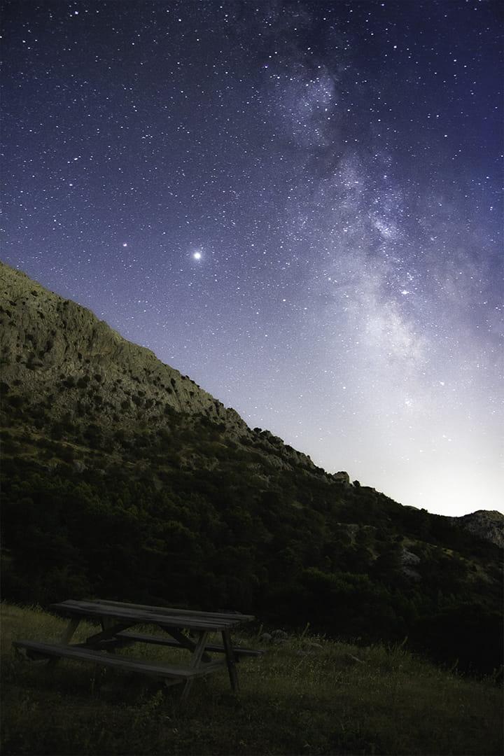 Mesa a las Estrellas